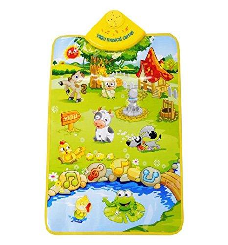 Preisvergleich Produktbild IPLUS Musical Musik Kind Spielen Bauernhof Baby Matte Tier Pädagogische Weich Kick Spielzeug Geschenk