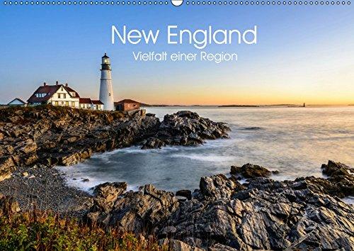 New England - Vielfalt einer Region (Wandkalender 2019 DIN A2 quer): Eine Reise durch Neuengland (Monatskalender, 14 Seiten ) (CALVENDO Orte) -