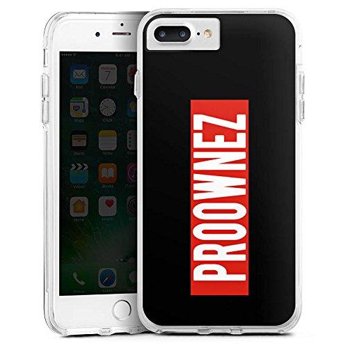 Apple iPhone X Silikon Hülle Case Schutzhülle Proownez Fanartikel Merchandise Youtuber Bumper Case transparent
