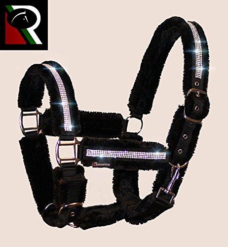Meister Comfort Headcollar for Nobility, Travel, Stable Horse Headcollar Halter 3