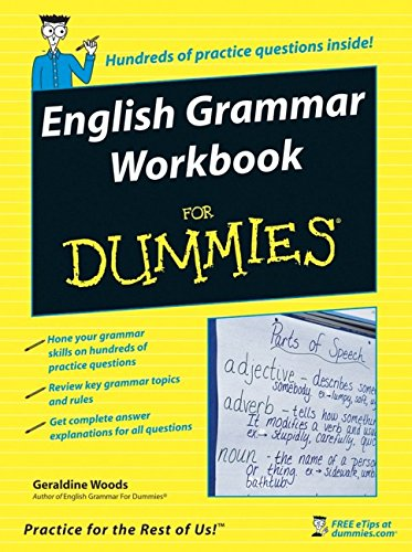 English Grammar Workbook For Dummies (US Edition)
