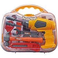 JasnyfallPortable Tools Box Pädagogisches Spielzeug Simulation Elektrowerkzeuge Reparatur Kit Sicherheit preisvergleich bei kinderzimmerdekopreise.eu