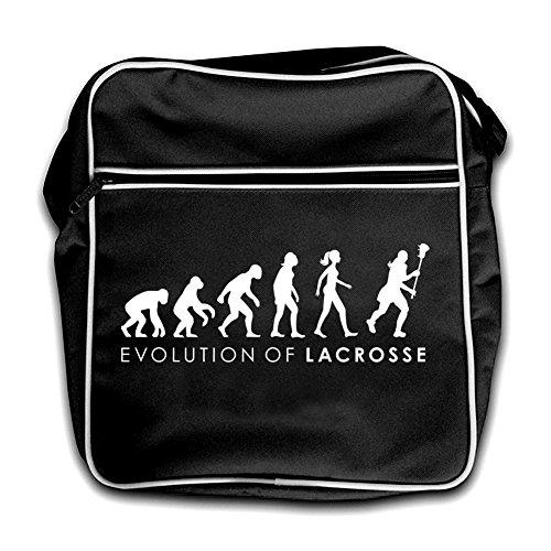 Dressdown Evolution of Woman - Lacrosse - Umhängetasche - Schwarz