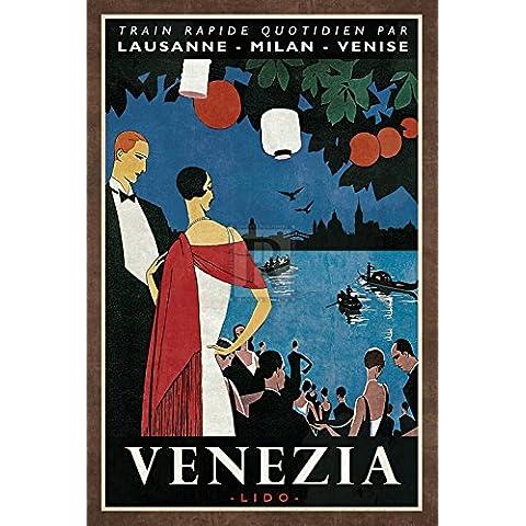 Collection Caprice – Train Venezia Artistica di Stampa (40,64 x 60,96 cm)