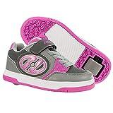 Heelys Plus X2, Color Rosa, Talla (33 EU, Pink and Grey)