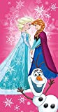 Badetuch–Strandtuch Eiskönigin Disney Frozen 100% Mikrofaser