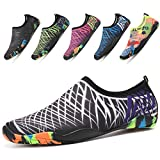 Best Sport Shoes - Beach Shoes Mens Womens Swim Shoes Breathable Lightweight Review