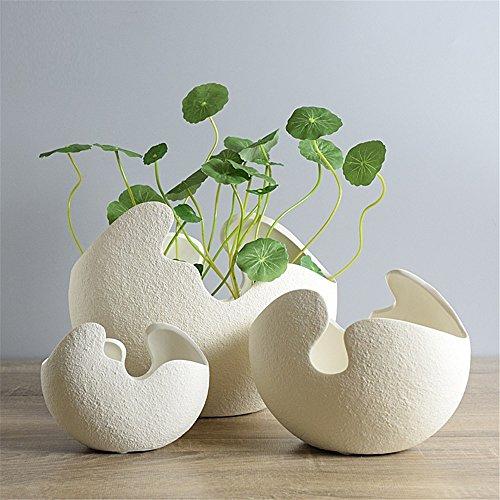 nohope-jarron-de-ceramica-de-cascara-de-huevo-blanco-creativo-decoracion-adornos-florero-de-simulaci