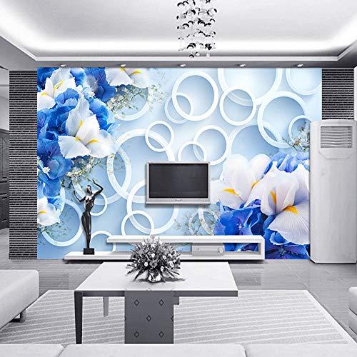 Amazhen Benutzerdefinierte 3D Wandbild Tapete Landschaft für Wände TV Hintergrund Moderne Fantasy...