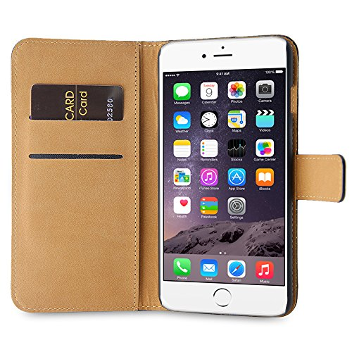 BELK iPhone 6s [4.7] Card Case, 360 Grad Abdeckungs-Kratzer-Beweis Auto mit Cardroom & Cash Side-Beutel f¨¹r iPhone 6s (Neueste Ausgabe 2015) - Pink Rot 6s plus