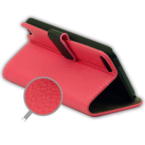 ABZ-S Tasche für iPod Touch 5 mit Stand-Funktion - pink