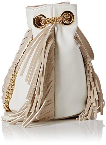 Pollini , Sac cabas femme Blanc (Blanc Cassé)