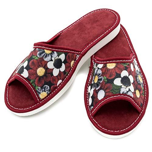 Absoft, pantofole donna, rosso (rosso), 41 eu