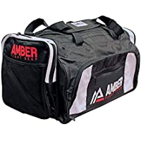 e7d69ed61faa Amber Fight Gear Pro Training Sports Bag waterproof Duffel Storage Bag with  Removable Shoulder Stap