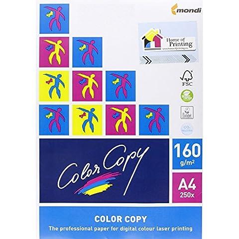 Mondi A4-26734 Carta Color Copy, A4, 160 G/Mq - Carta Stationery Set