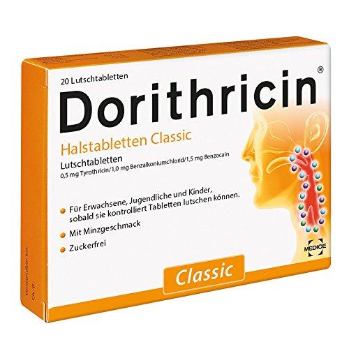 DORITHRICIN Halstabletten Classic Hals Lutschtabletten (20Stück) -