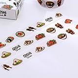 Sushi japanische Mottoparty Lebensmittel Washi Tape