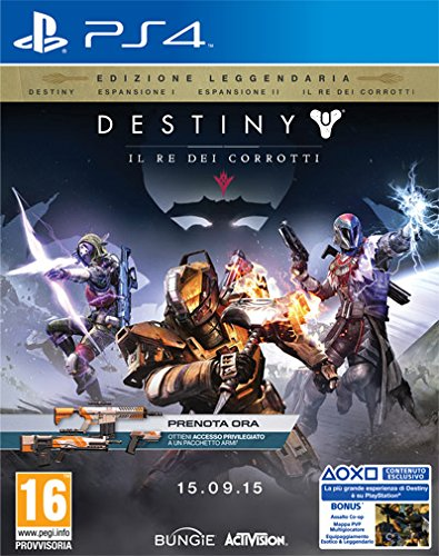 Destiny: Il Re dei Corrotti -Legendary Edition - Day-one - PlayStation 4