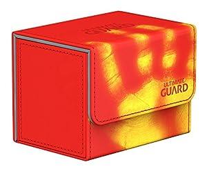 Ultimate Guard ugd10852No Sidewinder 80+ Standard Size chromia Skin Inferno-Rojo, Parte