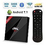 Android 7.1 Smart TV Box, H96 Pro Plus TV BOX 3GB RAM+32GB ROM