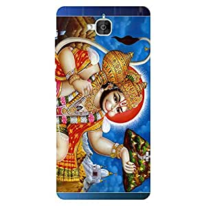 Print India 460P Mobile Back Cover for Honor 2+