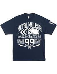 T-Shirt Metal Mulisha Re-Cap Azuloscuro (L , Azuloscuro)