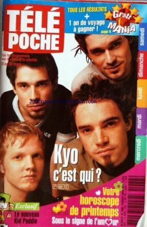 TELE POCHE [No 1988] du 15/03/2004