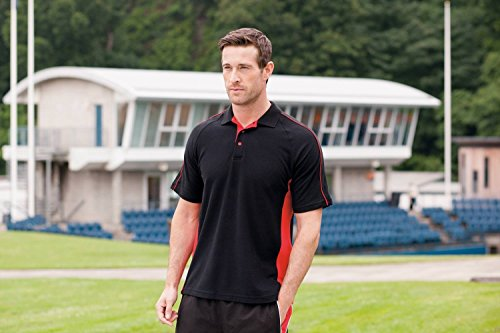 FINDEN Hales Sports Polo Red/ White