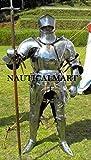 NAUTICAL MART Nautisches Mart 17. Jahrhundert Knight Mittelalter Combat Full Rüstung Halloween-Kostüm