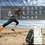 CHEREEKI Fitness Armband, Wasserdicht IP68 Fitness Tracker mit Pulsmesser Farbbildschirm Fitness Uhr Aktivitätstracker Schrittzähler Uhr Smartwatch SMS Anruf Beachten für Damen Herren (Schwarz) - 3