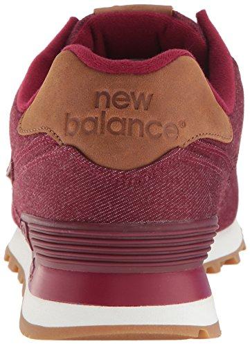 New Balance - Ml574txd, Scarpe da ginnastica Uomo Rosso (Burgundy)