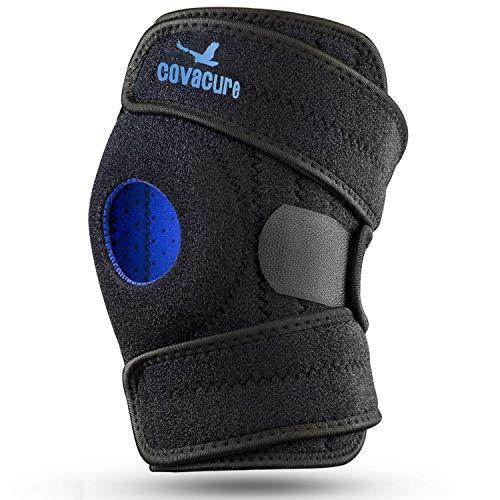 Covacure Kniebandage, Knieorthese Patella-Stabilisator für Sport, Gelenkschmerzen, Meniskusschmerzen, Rehabilitation bei Sportverletzungen und Prävention von Verletzungen - Einstellbare Kompression