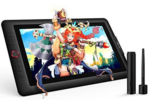XP-Pen Tavoletta Grafica Artist 15.6 Pro, 8192 Livelli di Pressione, Schermo IPS 1920x1080 Full HD da 15.6 pollici