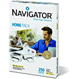 Navigator Home Pack - Pack de 250 hojas, A4, 80 gr
