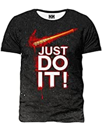 Noorhero Camiseta de Hombre - Just Do It Walking Dead CYxmC9
