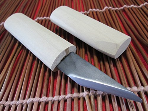 Rechtshändig/Japanisch Kiridashi/Handwerk messer/Taschenmesser/Holzgriff/Made in Japan