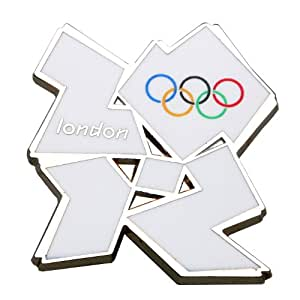 White Logo Pin Badge - Official London 2012 Olympic Games Product