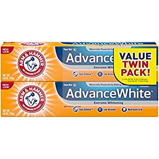 Arm & Hammer Extreme Whitening Baking Soda & Peroxide Toothpaste Twin Pack