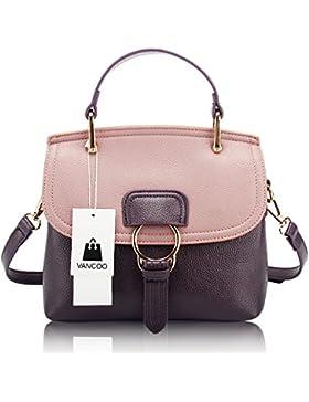 VANCOO 2017 neue Welle Paket Leder Vintage Handtasche Designer Tasche Messenger Tasche Damen Handtasche Geldb?...