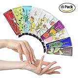 Handcreme - 10 Stück Pflanze Fruchtige Handpflege Set Feuchtigkeitspflege Handpflegecreme