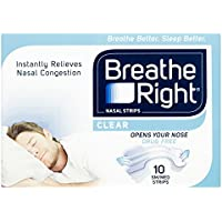 BREATHE Right Clear Small/Medium 10, 100 g preisvergleich bei billige-tabletten.eu