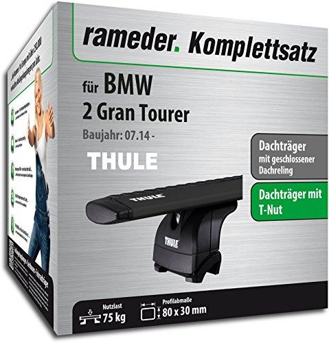 Rameder Komplettsatz, Dachträger WingBar für BMW 2 Gran Tourer (118333-13830-3)