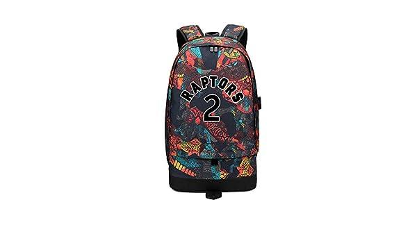 Kawhi Leonard backpack Men shoulder bag of female students schoolbag sports bag