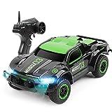 KDKD 1:24 Elektro-Allradantrieb Kletterndes Auto 2,4 GHz Fernbedienung Rennwagen mit Lichtgeschwindigkeit 50 km/h Kind Ferngesteuertes Auto-Modell schnelles Rennen Buggy Stunt Spielzeugauto Fernbedi