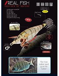 SQUID JIG REAL FISH 2.0 65mm MACKEREL
