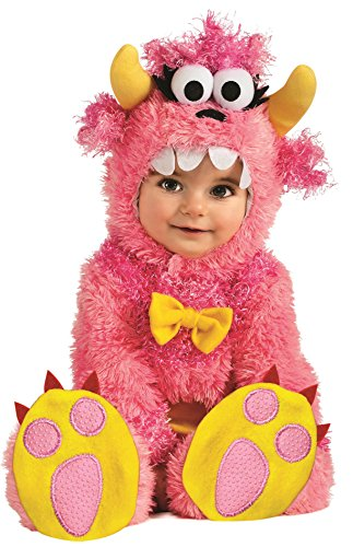 Monster Kostüm Cute Kinder - Rubie's IT881504 - 12/18 - Pinky Winky Kostüm, Super Baby, Größe 12/18 Monate