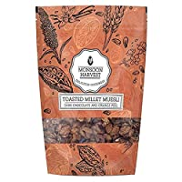 Monsoon Harvest Toasted Millet Muesli, Cranberry and Almond, 250g (Pack of 2)
