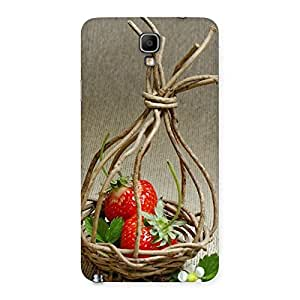 Impressive Straberry Basket Multicolor Back Case Cover for Galaxy Note 3 Neo