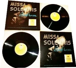 [Disque 33 T Vinyle] Beethoven, Missa Solemnis, Deutsche Grammophon (18224-225) (Coffret 2 disques)