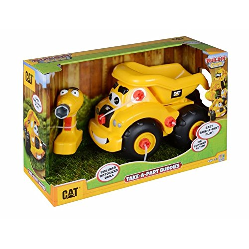 Cat-toy State (Toy State Caterpillar CAT Buildin' Crew Take-A-Part Buddies Haulin' Harry Dump Truck Light & Sound Vehicle by Toystate)